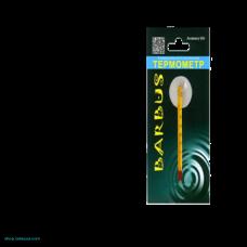 Термометр стеклянный тонкий с присоской в блистере 8 см