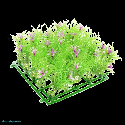 Коврик 15х15 см с цветами