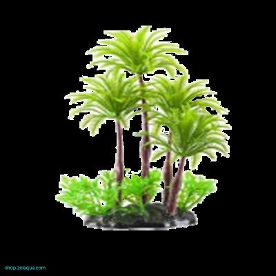 Чудо-остров с пальмами 18х18 см