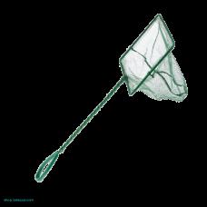 Аквариумный сачок с зеленой сеткой 15х12.5х30 см