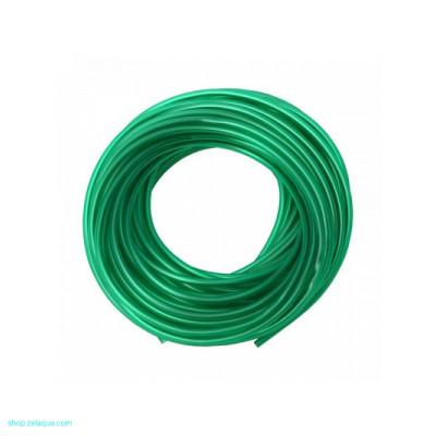 Barbus Шланг для компрессора силикон, зеленый - 5м