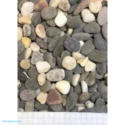 Грунт для аквариума ZelAqua (3кг)  - Морской Феодосия 10-15 мм