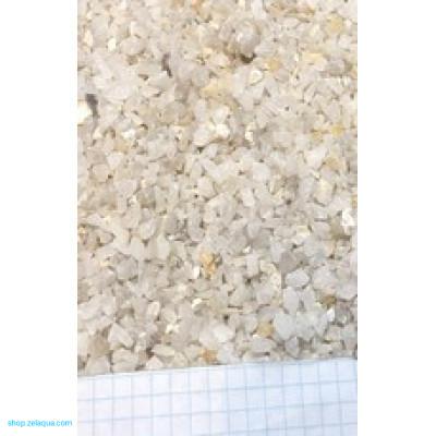 Грунт для аквариума ZelAqua (3кг)  - кварц дробленный 4-8 мм