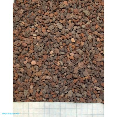 Грунт питательный  ZelAqua (1л) - лава вулканическая 1л 2-5мм